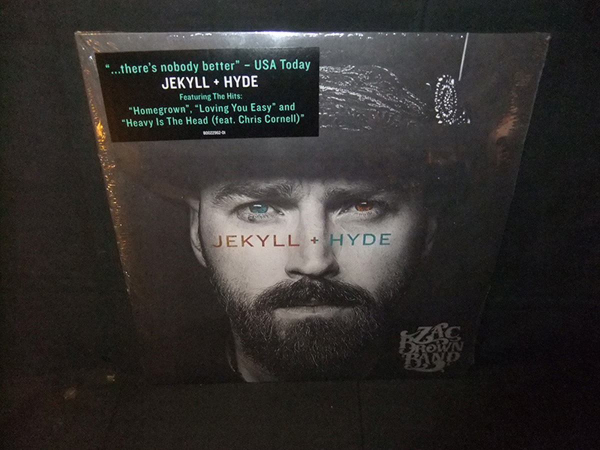 Zac Brown Band Jekyll Hyde Sealed New 180g Vinyl 2 Lp